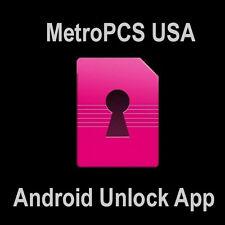 Android Unlock Device App MetroPCS  ZTE Z828 Z981 ZMAX Pro  SM-G550T1 Samsung S7
