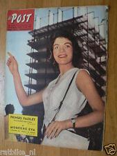 1958 DE POST 31 JAPAN,GRECO,ZANUCK,TUNESIE,FAZILET,LOURDES,ROSAY,