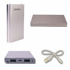 Power Bank Dual Cargador Powerbank Móvil Batería adicional Emergencia Oro