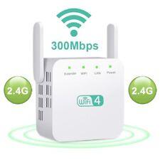 Repetidor WiFi 300Mbps/2.4GHz Extensor WIFI Amplificador WiFi Señal Inalámbrica