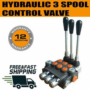 3 Spool Hydraulic Directional Control Valve - Three Spool Valve - P340