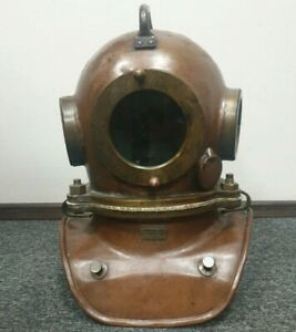 Original Russian  Soviet 3-bolt diving helmet (year 1967). USSR MARITIME
