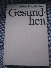 """Buch - """"KLEINE ENZYKLOPÄDIE - GESUNDHEIT""""  - aus DDR-Zeit - gebraucht"""