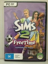 THE SIMS 2 ~ FREE TIME ~ EXPANSION PACK ~ PC CD-ROM ~ AS NEW