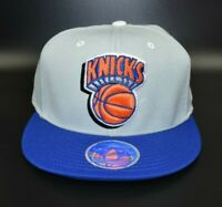 New York Knicks adidas NBA Men's Fitted Cap Hat - Size: S/M  (6 7/8 - 7 1/4)