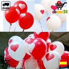 10 Globos de Corazones Corazon globo amor romantico fiesta sorpresa BODA *Envío
