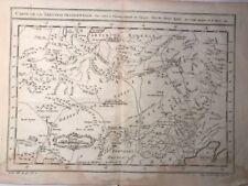 Quino, Rusia, Siberia, Manchuria; Bellin N. / Cartas de la Tartarie 1749