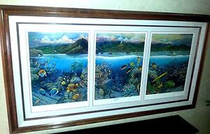 """ROBERT LYN NELSON """"UNDERSEA SYMPHONY OF HANA"""" Limited Edition Print Lithograph"""