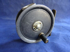 """AN X RARE LEFT HAND WIND DINGLEY MADE ST. GEORGE PATTERN 3"""" TROUT FLY REEL"""