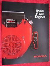 2002 Honda V-Twin Engines Brochure