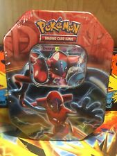 Deoxys EX Tin Sealed    Contents Include 1 Plasma Storm!!
