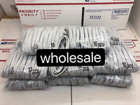 100 x Wholesale Lot 6ft Usb Charger Cord Cable For Iphone 6 6s 5 7Plus 8  XS MAX