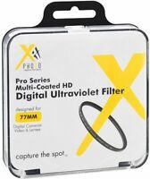 XIT 77mm Pro Series UV Digital Filter for Nikon 17-135mm 80-200mm 80-400mm Lens