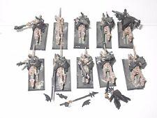 Warhammer Fantasy morts-vivants monté wights x10 partie Metal Épuisé