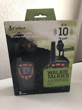 COBRA avventura AM845 Radio 2 vie Coppia di Walkie Talkie Radio 10 KM Gamma Nero