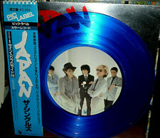 """JAPAN """"The Singles"""" Limited 1980 Japan ONLY BLUE VINYL 12"""" w/ps WITH Obi/inserts"""