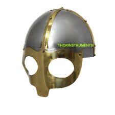 Medieval Viking Mask Deluxe Mask Warrior Armor Helmet