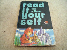 VINTAGE LADYBIRD BOOK READ IT YOURSELF puss in boots LEVEL 3