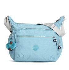 NEW! KIPLING GABBIE STARLIGHT BLUE CROSSBODY SHOULDER BAG PURSE $109 SALE
