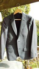 BNWT Godwin Charli grey extra fine merino wool Madrid blazer size 36 RRP $649