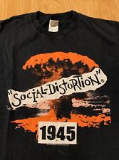 2005 Social Distortion 1945 T-Shirt Size Men's Medium