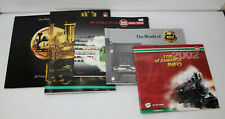 5 LGB Vintage Model / Toy Train Catalogs - 1988, 91/92, 93/94, 2001, 2002