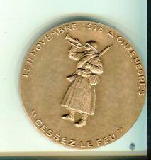 Medaille cinquantenaire du cessez le feu guerre 14/18 Delamarre