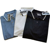 Ping Golf Maldon Contrast Polo Shirt Choice of Colour S-XXL