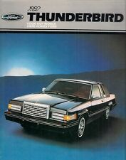 Ford Thunderbird 1982 USA Market Sales Brochure Town Landau Heritage