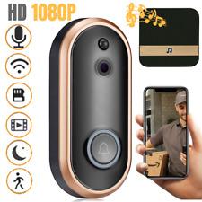 VIDEOCITOFONO WIFI IP 1080P FULL HD WIRELESS CAMPANELLO TELECAMERA  SMARTPHONE