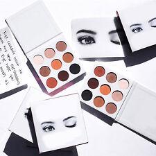 Charming 9 Color Matte Eyeshadow Palette Cosmetic Makeup Eye Shadow Tool Set HN