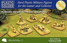 28MM RUSSIAN INFANTRY HEAVY WEAPONS - PLASTIC SOLDIER COMPANY - WW2 - 1ST CLASS