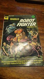 MAGNUS ROBOT FIGHTER (1964 Series) #35 WHITMAN Comics Book