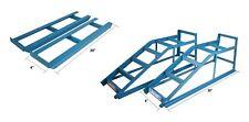2x Heavy Duty 2.5 Ton Tonne Metal Car Van Ramps Lifting Garage Ramp Extension