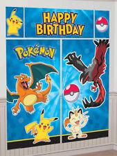 6ft Pokemon Birthday Party Giant Scene Setter Banner Decoration