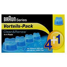 Braun Reinigungskartuschen CCR 4+1 Clean & Renew Series 9 Series 7 Series 5 u. 3