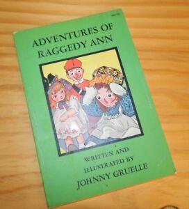 ADVENTURES OF RAGGEDY ANN Book Johnny Gruelle 1968 VINTAGE