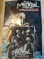 Full Metal Panic - Mission 1 (DVD, 2003) With Poster
