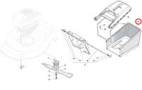 Mountfield SP535 HW Petrol Lawnmower Grassbag 181002211/0 2013-2015 Models