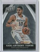 panini karl anthony towns rookie card