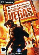 JEU PC DVD ROM../....TOM CLANCY'S RAINBOW SIX VEGAS......