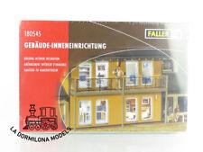 180545 FALLER H0 MOBILIARIO INTERIOR DE LA CASA - NUEVO A ESTRENAR