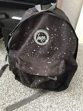 Hype Reflective Speckle Black Backpack - School Bag/College Fashion Rucksack