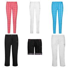 PUMA Damen Golf Hose Pants Freizeit Sporthose Capri Shorts Lange Hosen Golfhose