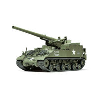 35351 Tamiya Plastic Kit 155mm Spg M40 Scale 1/35th Model Modeling Crafting