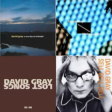 4  DAVID GRAY CDS: LOST SONGS, MIDNIGHT, SELL SELL SELL, WHITE LADDER