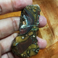 Large 199.45CT Great Pattern +VIDEO Australia Boulder Opal ROUGH / Specimen