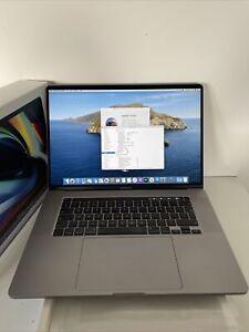  Apple MacBook Pro 16 2019 Touch Bar 2.3GHz 8 core i9 64GB 4GB 5500M 4GB Grey