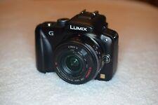 Panasonic LUMIX DMC-G3K 16.0MP Digital Camera w/2 Lenses 14-42mm & 45-200mm