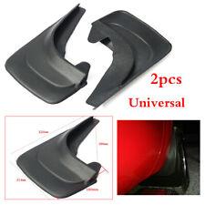 2x ABS Plastic Black Car Truck Mud Flap Splash Guards Fender 320mm(L) x 214mm(W)